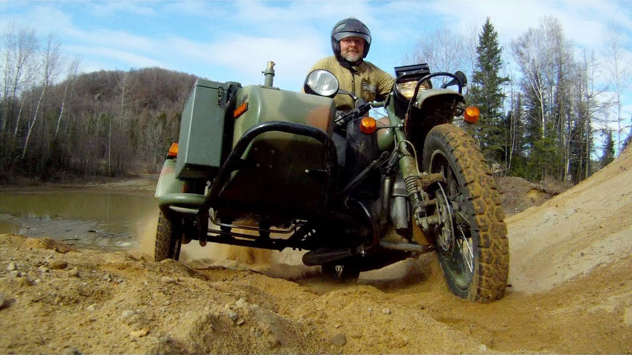 The Mighty Suzuki DR650 A Ural Gear Up And A BMW HP2