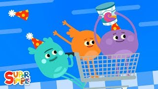 The Bumble Nums make the Ultimate Upside Down Cake  Cartoon For Kids