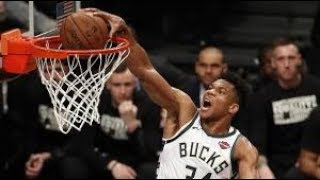 Milwaukee Bucks vs Brooklyn Nets NBA Full Highlights (5th February 2019)