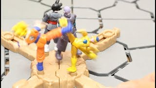 DRAGON BALL SUPER STOP MOTION SPIN BATTLERS FIGURE SON GOKU BLACK REVIEW