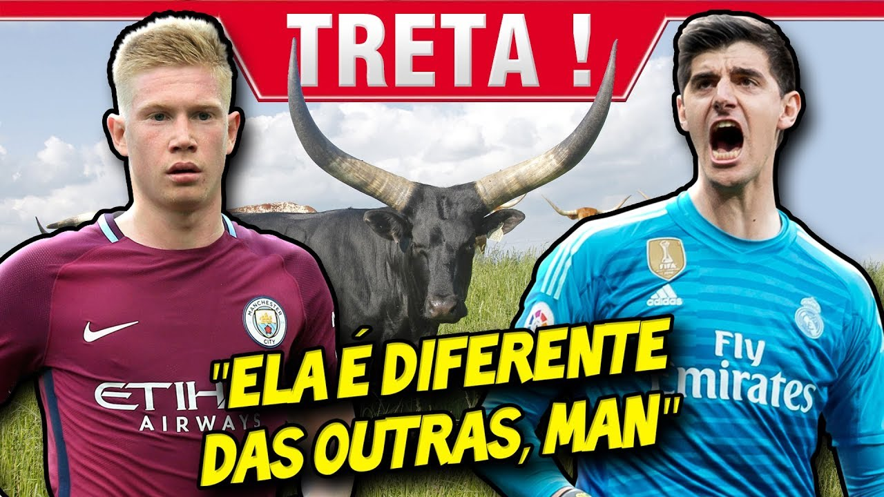 O dia que COURTOIS furou o olho do DE BRUYNE - YouTube