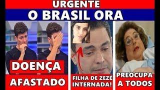 TRISTE: aos 46 anos, Rodrigo Faro... Mamma Bruschetta preocupa... Filha de Zeze di Camargo...