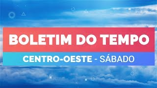 Previsão Centro-Oeste – Chuva desde cedo em Brasília