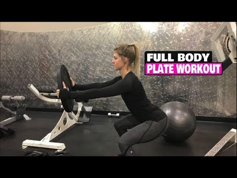 full body plate workout for women hit every muscle