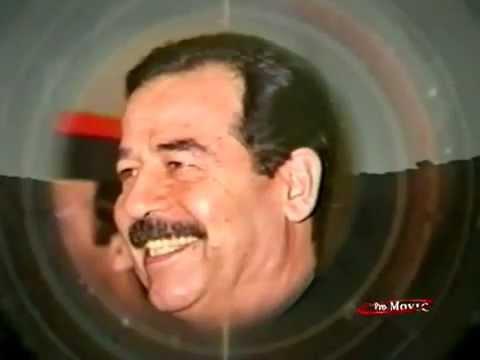 Hala Bi Saddam Hatam Al Iraqi هلا بصدام - - YouTube.FLV