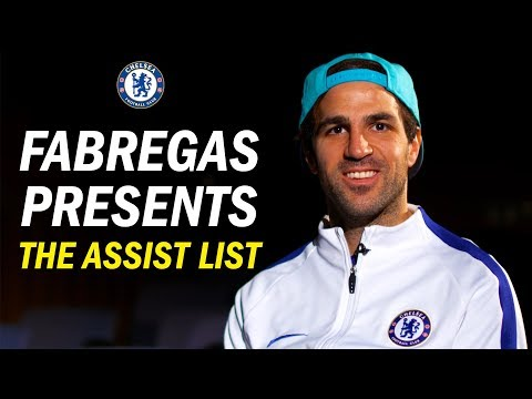 ''I Didn't Know Alvaro Had That In His Locker'' | Cesc Fabregas Presents The Best Assists Of 2017