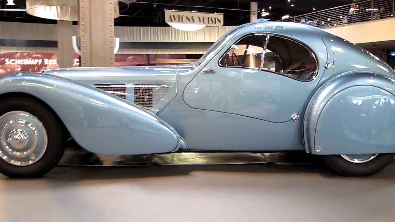 1936 Bugatti Type 57SC Atlantic - YouTube