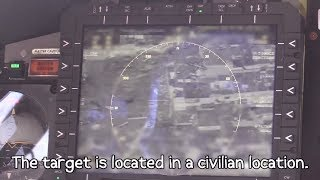 Apache Airstrike - Inside The Cockpit During A Coalition Strike On Mosul, Iraq.
