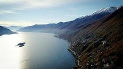 Drone Views of Switzerland in 4k: Arcegno & Ronco sopra Ascona