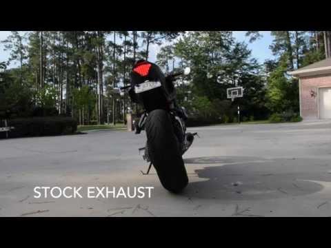 Yamaha FZ-07 M4 Exhaust