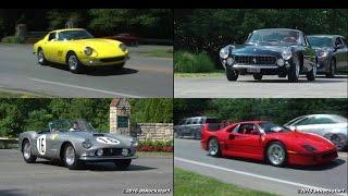 Accelerations: Ferrari 288 Evo, F40, 275 GTB, 599 GTO, 250 Lusso