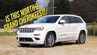 2017 Jeep Grand Cherokee Summit Review: Is This SUV Worth 2 Grand Cherokees?