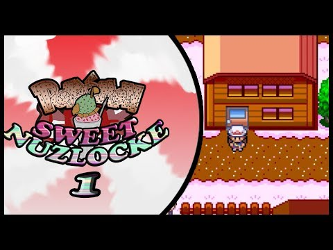Pokemon Sweet Nuzlocke - Part one (What a Sweet Beginning!!)