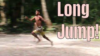 long Jump - Nostalgic Village Sports - Funny Village Games