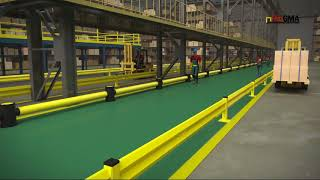 Prevent Accidents & Injuries: Protecting pedestrians in industrial facility [VIDEO]