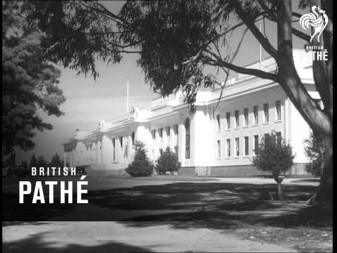 Trade Mission From New Zealand Visits Canberra (1950-1959)