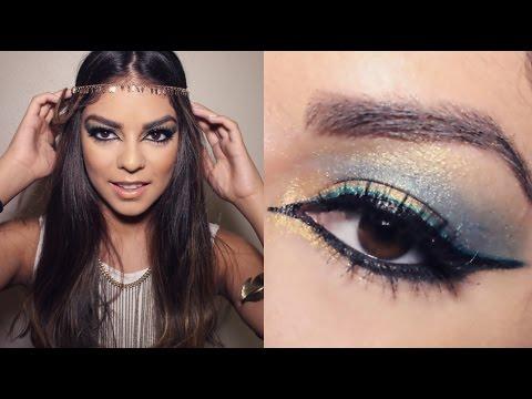 Halloween Makeup: Modern Cleopatra   Jessfashion101 - YouTube