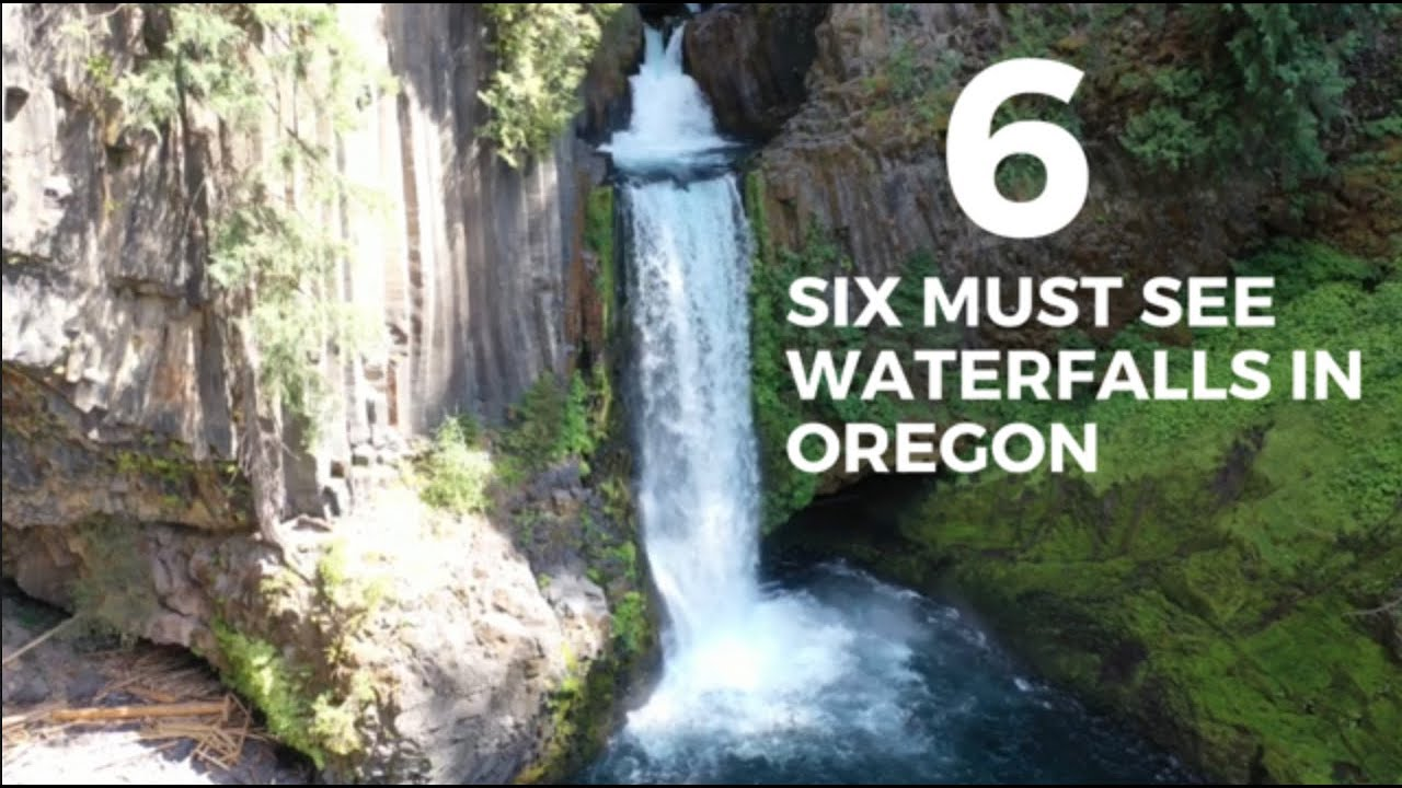SIX MUST SEE WATERFALLS IN OREGON | Oregon Waterfalls | Multnomah Falls | Oregon Travel