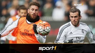 Gaga-Zoff bei Real: Ramos fordert einen Euro mehr Gehalt als Bale   SPORT1