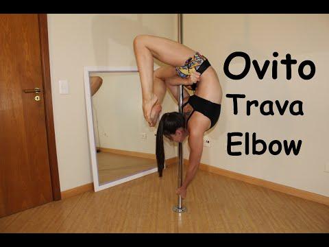 Ovito com Trava Elbow - Tutoriais de Pole Dance Por Alessandra Rancan