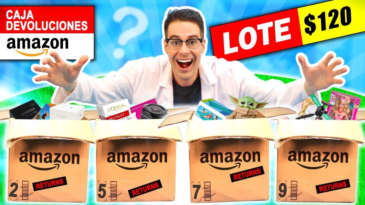 Abro LOTE de CAJAS AMAZON DEVOLUCIONES $120 📦❓ PARTE 1 | Cajas Misteriosas | Curiosidades con Mike