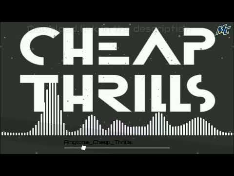 Cheap Thrills English Ringtone With Download Link