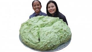 Bà Tân Vlog - Làm Cái Bánh Bao Lá Dứa Siêu To Khổng Lồ 7kg