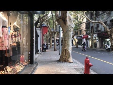 Shanghai street view-Nanchang road,上海街景-南昌路(近淮海中路)