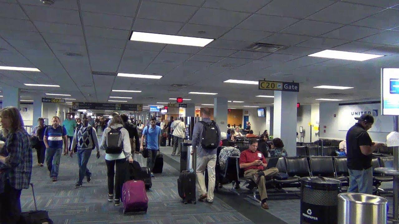 A Tour of Washington Dulles Airport\'s (IAD) C and D terminals (Part 2),  June 2013