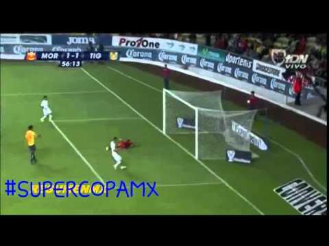 Golazo Hernán Darío Burbano a Morelia Super Copa