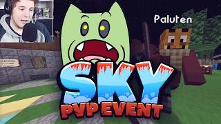 Jeder knüppelt jeden! - PvP Event Minecraft SKY #01   ungespielt