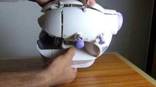 How to open portable mini sewi…