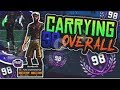 NBA 2K18 Carrying A 98 Overall on 2s • New Top Rep on NBA 2K18!