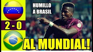 TRISTE RELATO BRASILEÑO!! VENEZUELA VS BRASIL 2-0 |RESUMEN Y GOLES