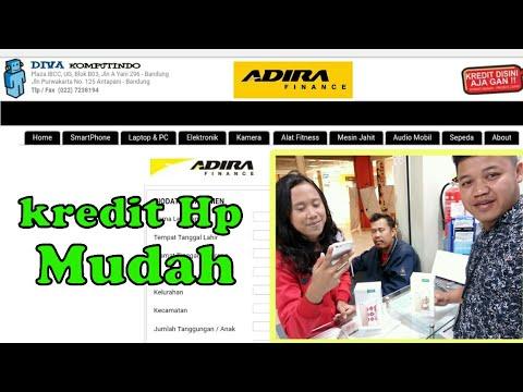 """Tutorial, Pengajuan kredit Hp online """"Mudah"""", #ADIRAFINANCE I dani divxkomp"""