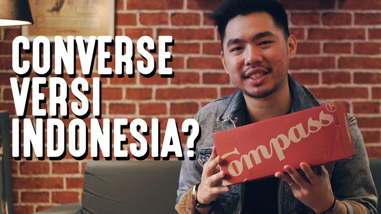 CONVERSE VERSI INDONESIA? Review Sepatu Compass - YouTube