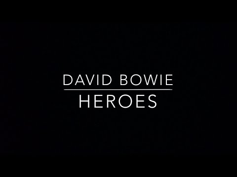 David Bowie - Heroes Lyrics