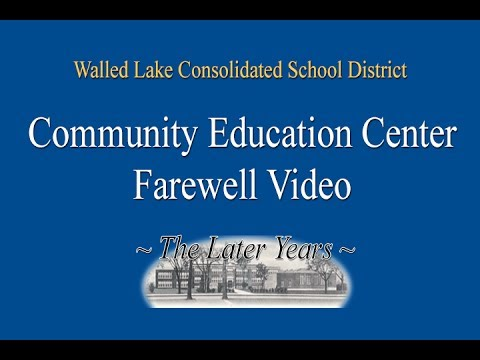 Community Education Center - The Later Years