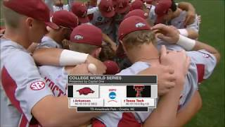 Arkansas vs. Texas Tech 2018 (CWS Game 2)