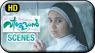 Vishudhan Malayalam Movie | Scenes | Kunchacko Boban denies priesthood to protect Miya George
