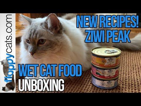 BRAND NEW! ZIWI Peak Wet Cat Food Provenance Unboxing