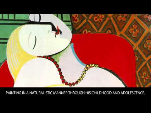 Pablo Picasso - Famous painters Bios - Wiki Videos by Kinedio