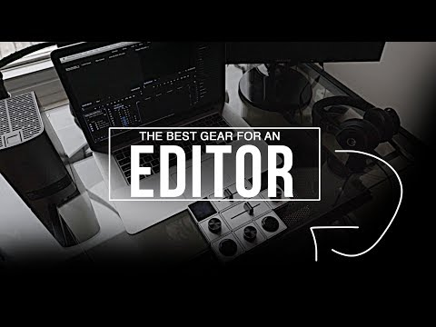 THE BEST EDITING SET UP - WHAT YOU NEED TO HAVE! - also what you don't..