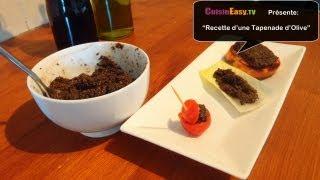 Recette De La Tapenade D'olives Noires | Facile Et Rapide