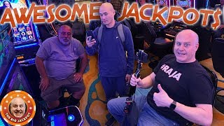 NEVER SEEN on YOUTUBE JACKPOT$! 🎰Huge Wins from the Lodge Casino 💥