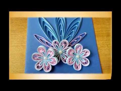Papercraft Quilling card tutorial