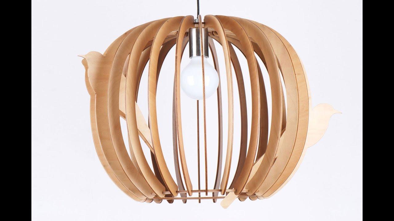 Buy Wood Pendant Light In Melbourne Birds Nest
