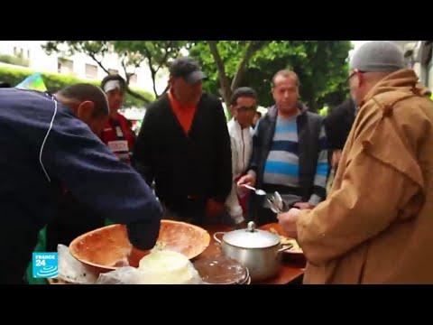 -مطاعم الشعب- في الجزائر.. مبادرة للتأكيد على التضامن والوحدة بين المتظاهرين