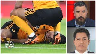 RAÚL JIMÉNEZ La terrible lesión del delantero mexicano, explicada por un experto | Futbol Picante