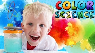 Rainbow Tornado Science Fun!!